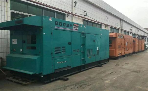 工厂发电机出租供电